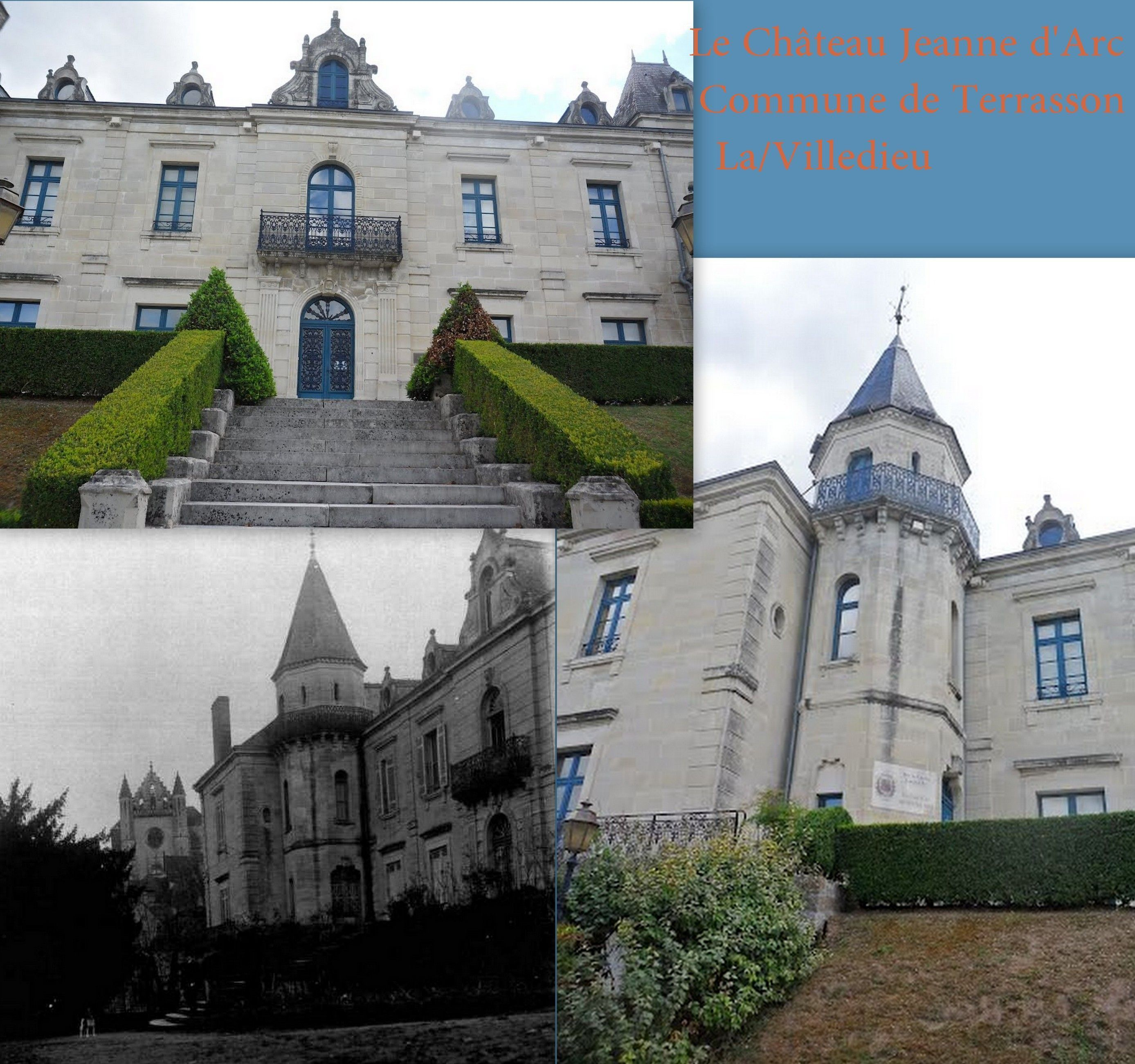 Château Jeanne D Arc A Terrasson La Villedieu