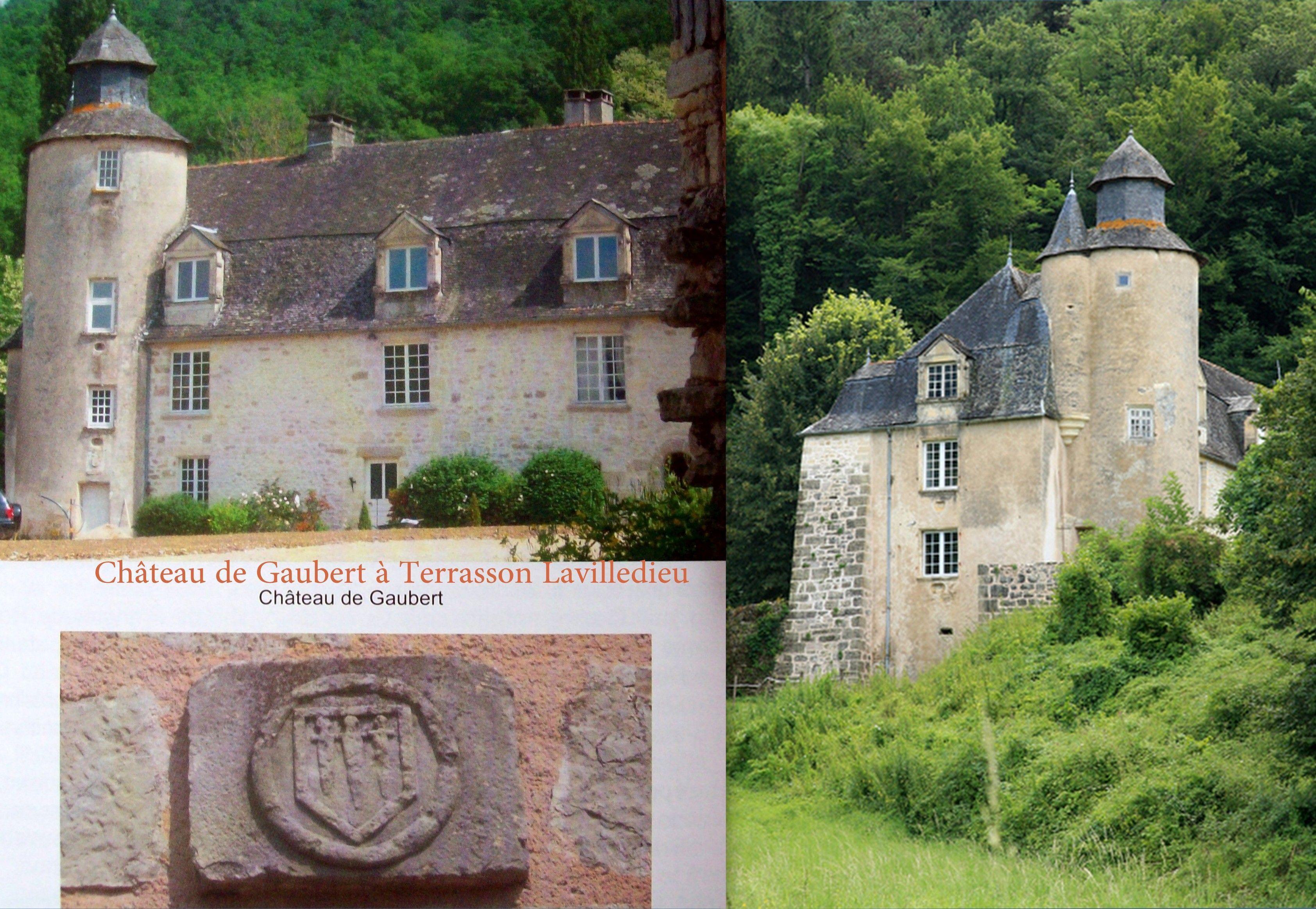 Château De Gaubert Commune De Terrasson Lavilledieu